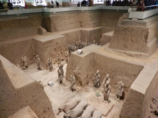 The Museum of Qin Terra-cotta Warriors and Horses: A new excavation area