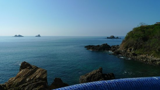 Capella Ixtapa: View from our room
