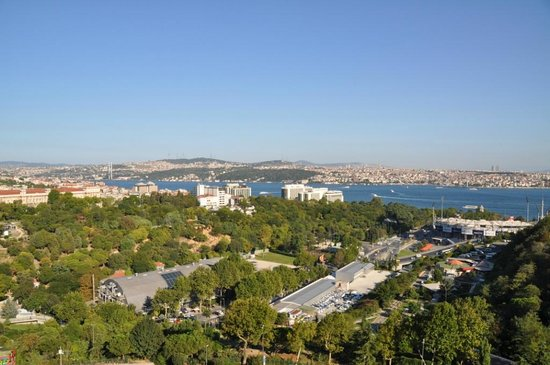 Hilton Istanbul Bosphorus: View from Our Balcony