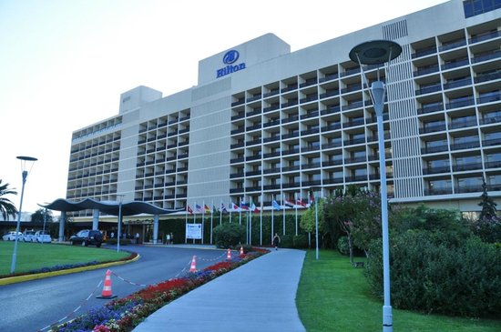 Hilton Istanbul Bosphorus: Front of the Hotel