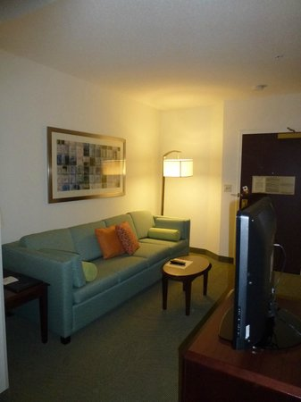 SpringHill Suites Boston Andover: Seating area...