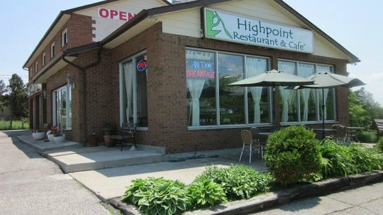 Highpoint Cafe & Restaurant: The Storefront