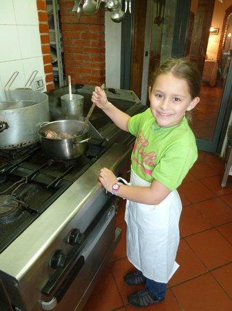 Torre Guelfa Chef Claudio: Beef stew