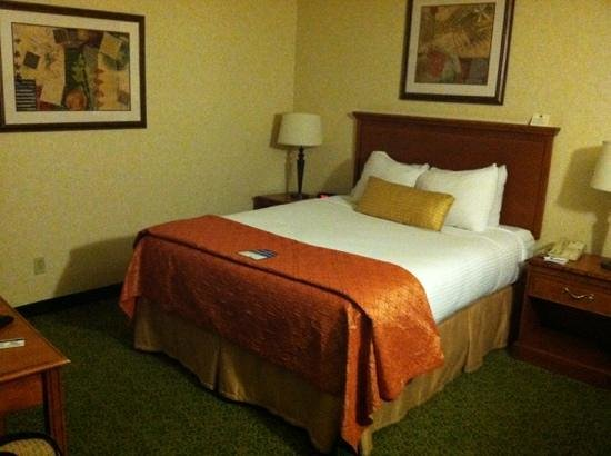 Best Western Plus Garden Inn: single queen room