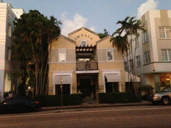 Impala Hotel: Hotel Entry