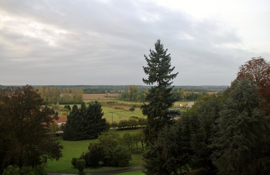 Hotel Chateau des Tertres: View from our room