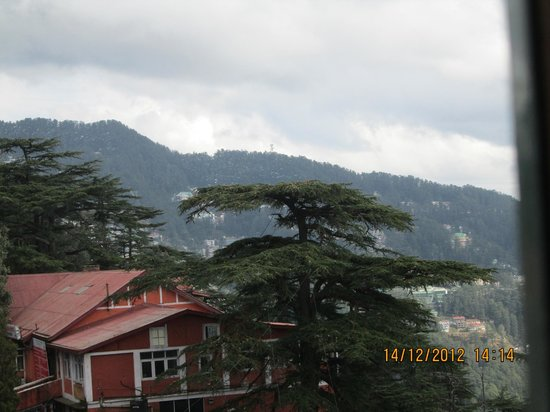 ‪‪The Oberoi Cecil, Shimla‬: View from our room
