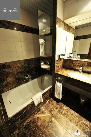 Hotel Balmes: 我喜歡這樣通風佳又舒適的環境。