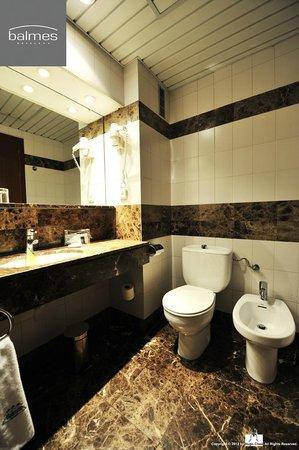 Hotel Balmes : 我喜歡這樣通風佳又舒適的環境。
