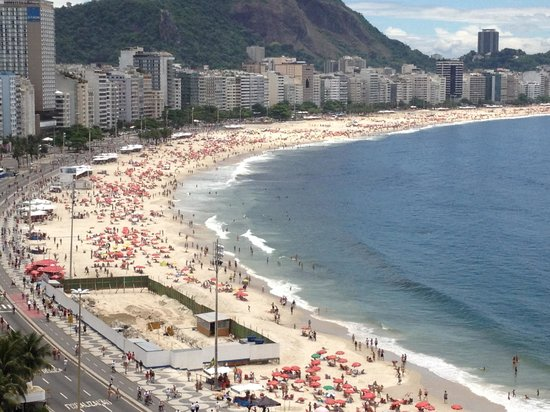 Orla Copacabana Hotel: wonderful view