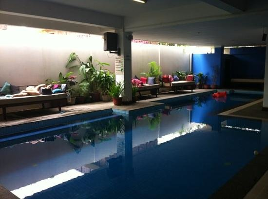 The Siem Reap Hostel: nice swimming pool!
