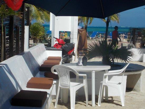 Restaurante Majia: VISTA DESDE NUESTRA MESA