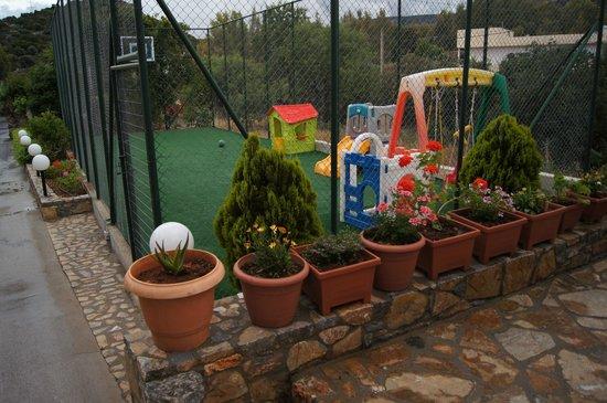 Blu Acqua Hotel: Детская площадка