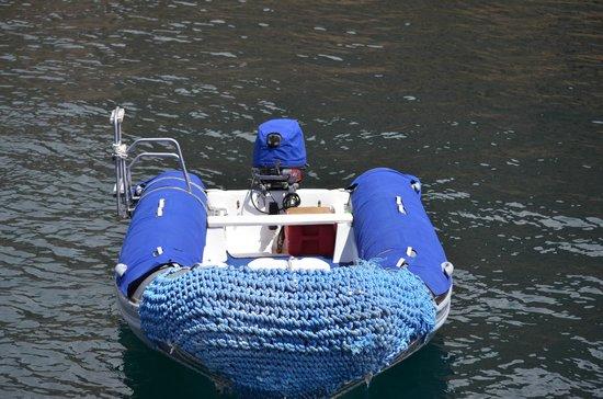 Administracion Turistica del Parque Nacional Galapagos: Zodiac Boat