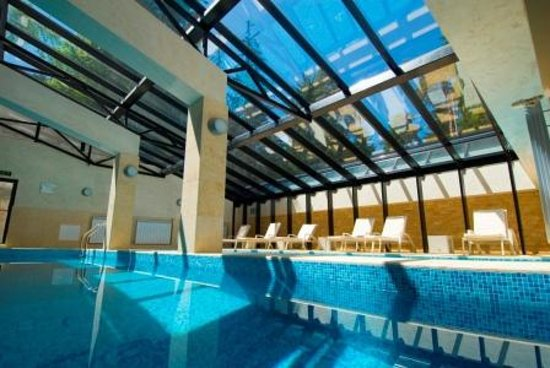 Radina's Way Hotel: Indoor Pool