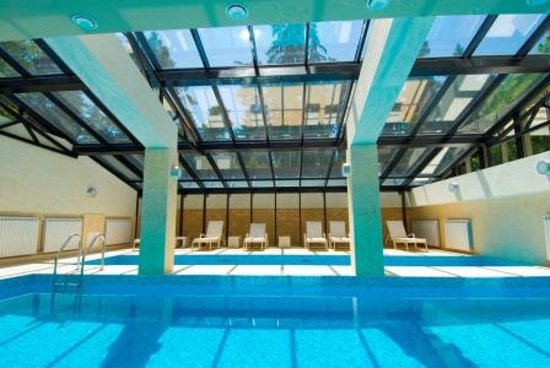 Radina's Way Hotel : Glass roof indoor pool