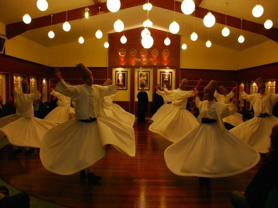 Whirling Dervish Ceremony in Fatih : Mevlevi Monastery in Fatih