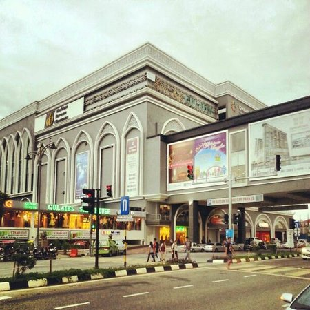 Hatten Hotel Melaka: Linkbridge to Dataran Pahlawan Megamall