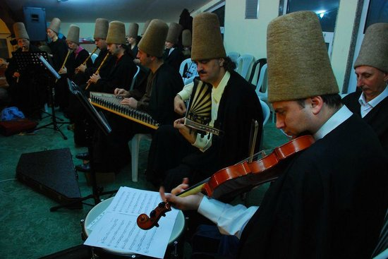 Whirling Dervish Ceremony in Fatih : Dervish Ceremony in the Real Monastery