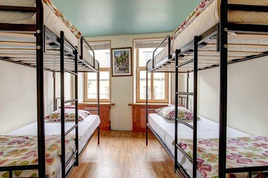 Liepaja Travellers Hostel: 4-bed room