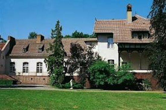 Lindow, Germany: Das Landgut Gühlen in der Außenansicht