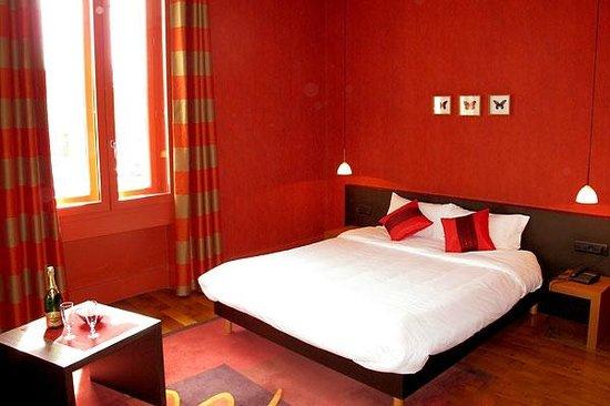 Hotel L'Oree du Parc : CHAMBRE ORCHIDEE