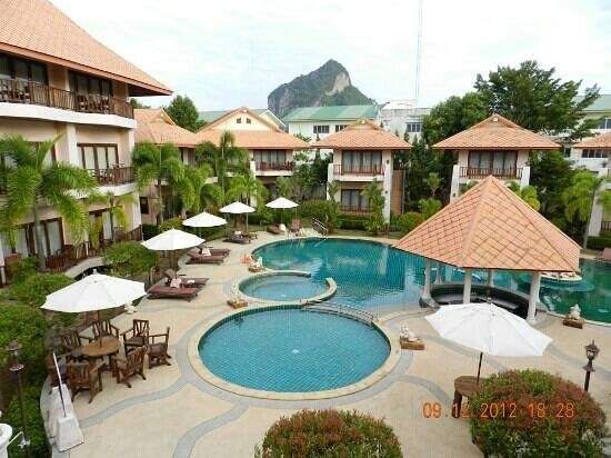 Andamanee Boutique Resort and Spa Krabi: pool view