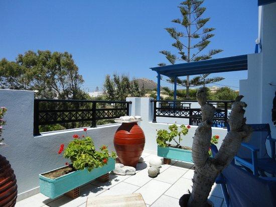 Hotel Villa Adriana: Balcony