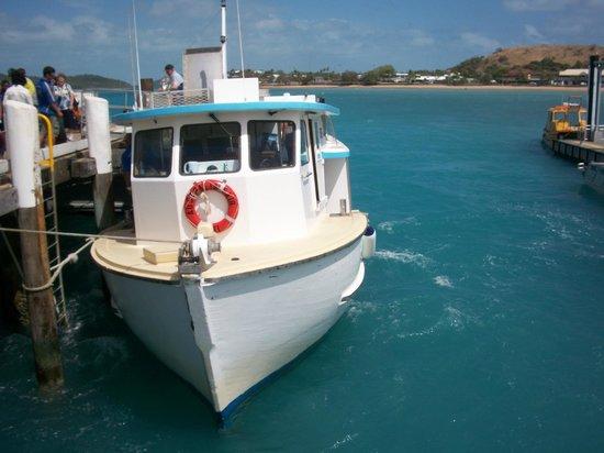 Horn Island Jetty:                   Ferry