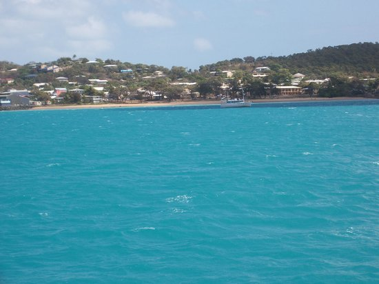 Horn Island Jetty:                   Turquoise Blue Sea