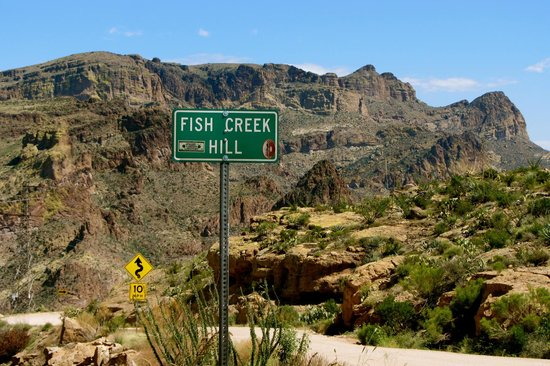 Fish creek hill apache trail phoenix picture of apache for Fishing in phoenix arizona