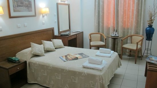 Hotel Solomou Athens : double room