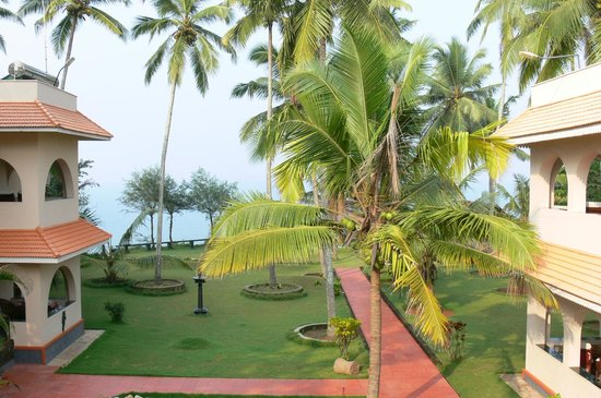 Varkala SeaShore Beach Resort: View from breakfast room