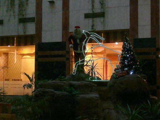 Triumph Hotel: Xmas decorations