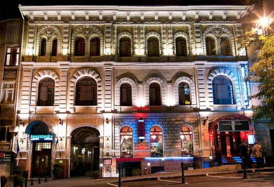 Hotel Ayvazovsky: facade