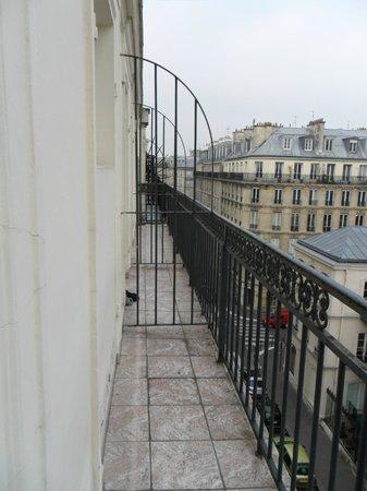 Hotel Marignan: Good balcon