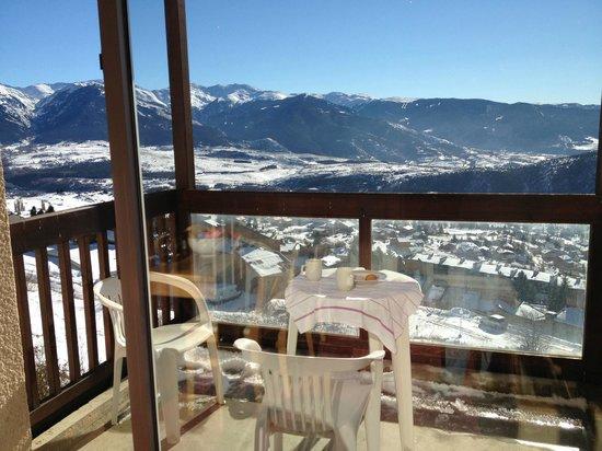 Pierre & Vacances Residence Le Pedrou: Orientation plein sud et même avec -5° il faut chaud sur la terrasse