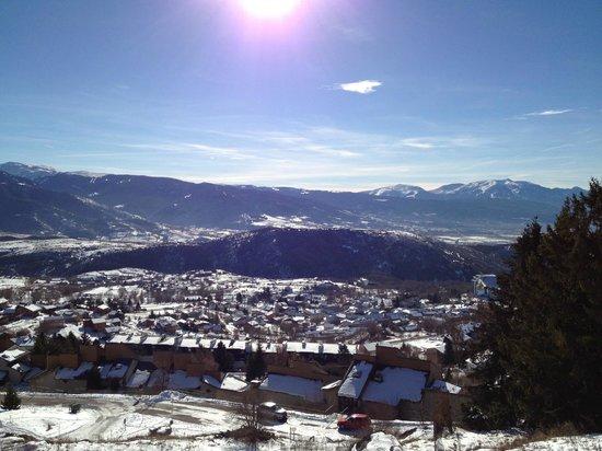 Pierre & Vacances Residence Le Pedrou: Vue sur la vallée et les montagnes