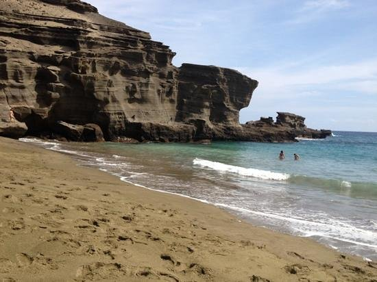 South Point (Ka Lae) and Green Sand Beach: loved it!!