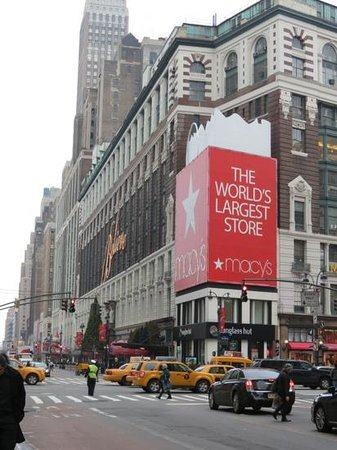Macy's Herald Square: 9 étages de magasinage