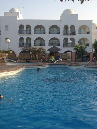 Hotel El Puntazo: View from pool