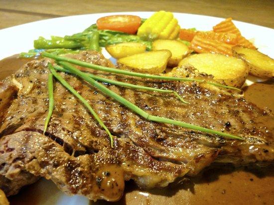 Pizzeria Traudi, Kota Bharu: T-Bone Steak
