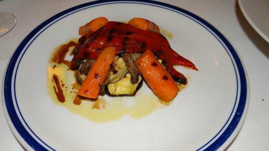Dimitris & Grigoris : Tower of grilled veggies
