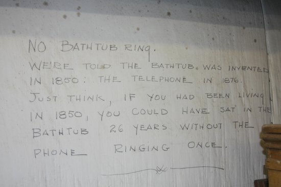 LSU Rural Life Museum: Bathrub invented in 1850!
