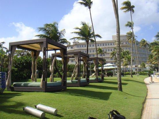 Caribe Hilton San Juan: $75.00 an hour! no thank you! 