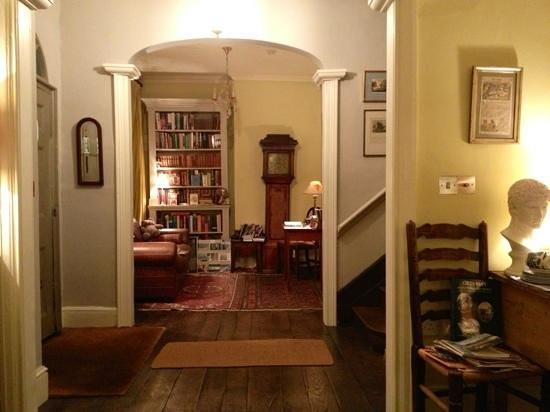 Tinto House B&B: Reception area