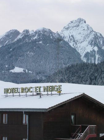 View of Hotel Roc et Neige Chateaux D Oex