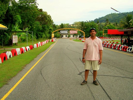 Patong Go-Kart Speedway and Phuket Offroad Fun Park: Go-Kart