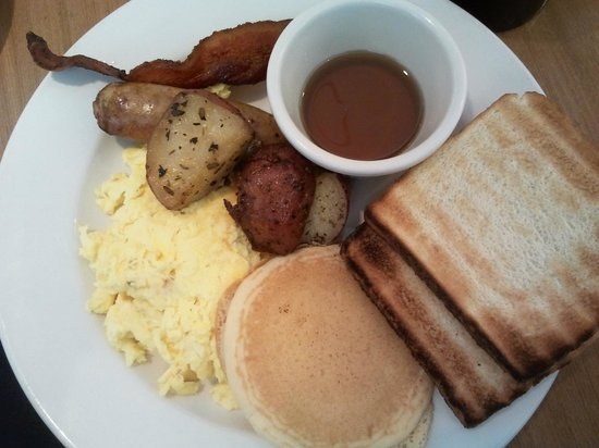 Four Points by Sheraton Los Angeles International Airport: Colazione a buffet