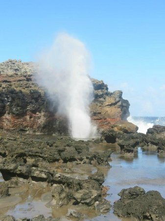 Kaleialoha Condominiums: Nakalele Blowhole, about 25 minutes north of Kaleialoha
